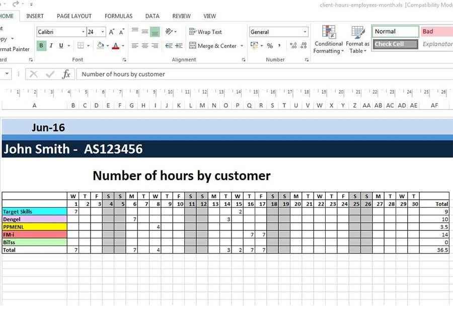 Laden Sie Excel-Zeitplanvorlagen herunter
