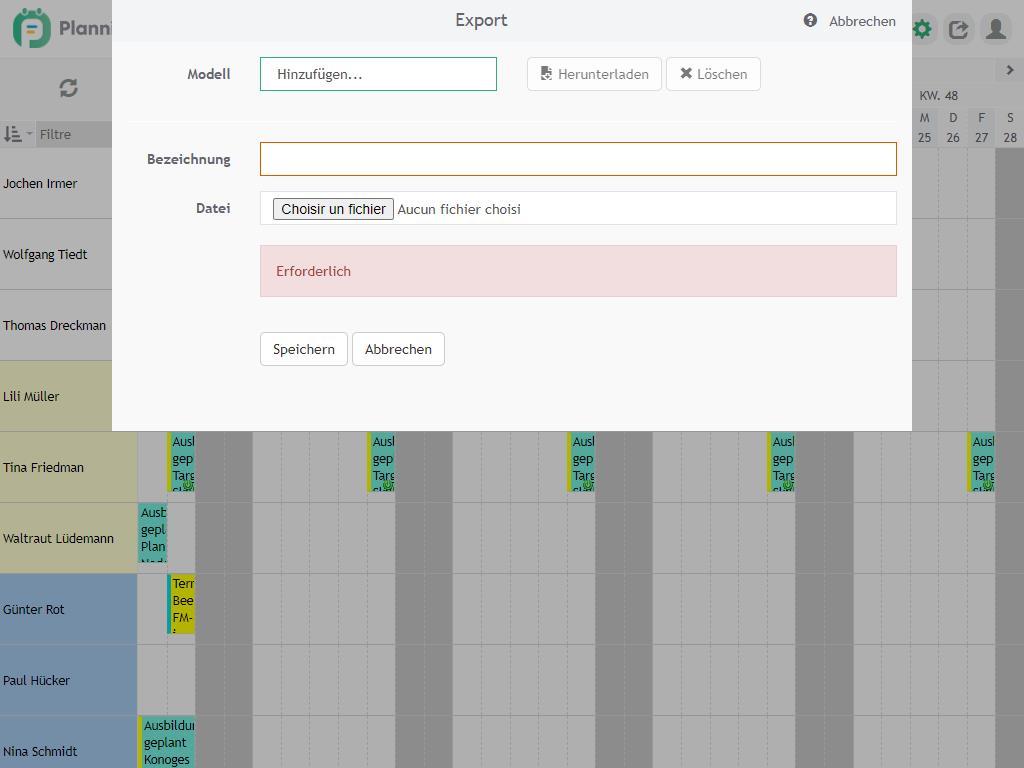 Erstellen von Excel-Berichten
